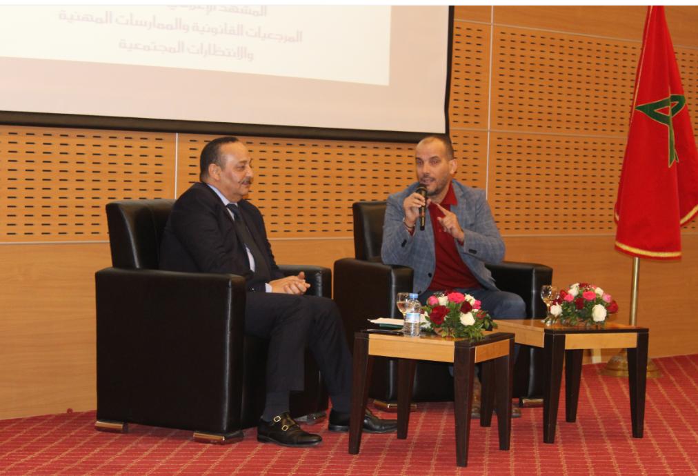 Photo of وزير الثقافة والاتصال يلقي الدرس الافتتاحي لبيت الصحافة