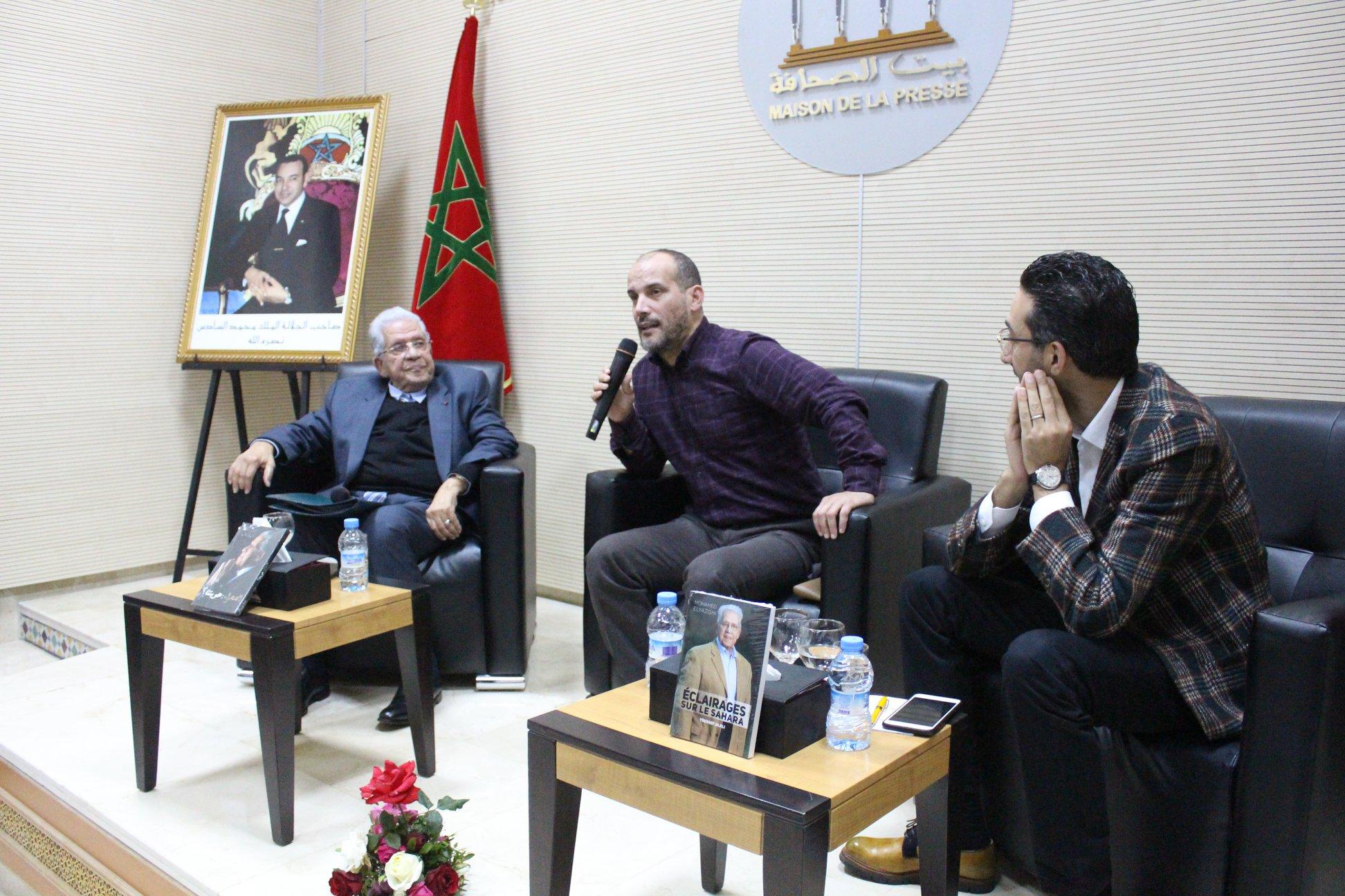 Photo of محمد اليازغي ضيف بيت الصحافة