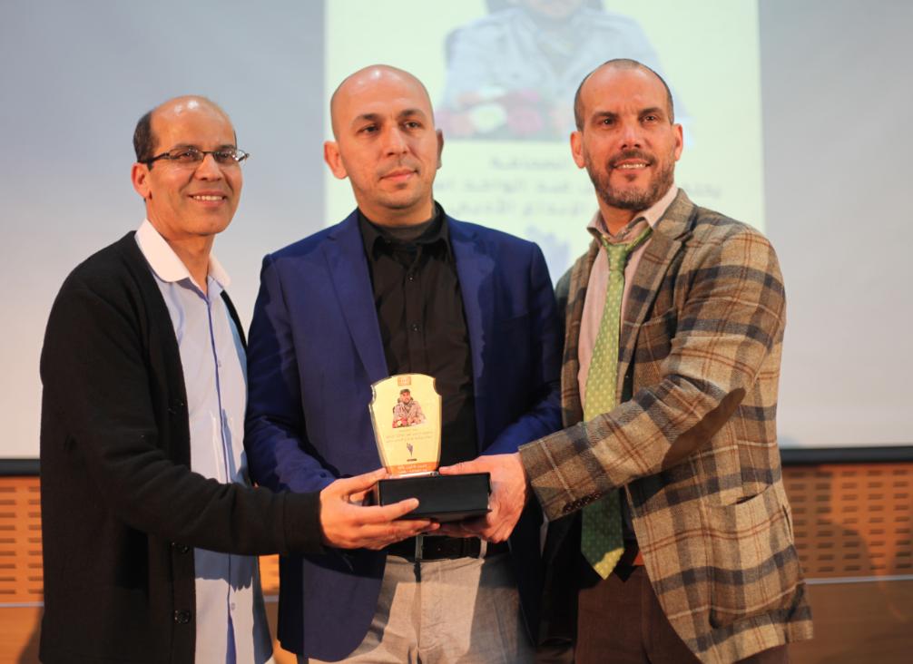 Photo of بيت الصحافة يحتفي بالزميل عبد الواحد استيتو  الفائز بجائزة الإبداع الأدبي بدبي