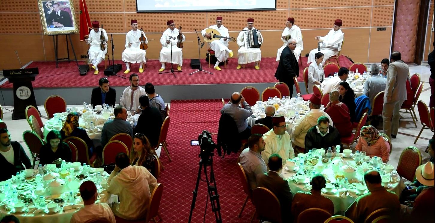 Photo of حفل إفطار على شرف الصحفيين بمناسبة الشهر الفضيل