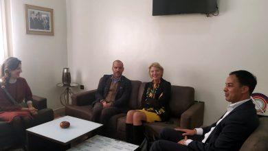 Photo of سفيرة هولندا ببيت الصحافة