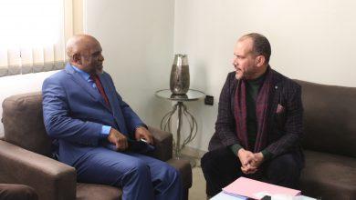 Photo of القنصل العام لجمهورية جزر القمر بالعيون في ضيافة بيت الصحافة